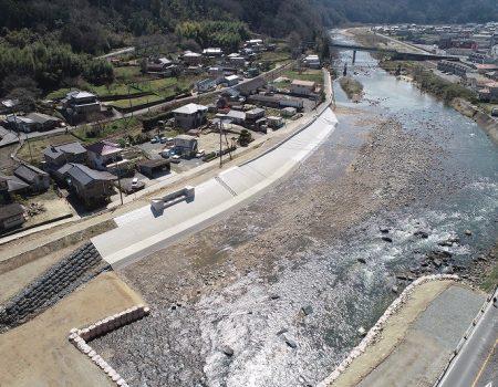 芦田川父石護岸外工事/2019-03-29